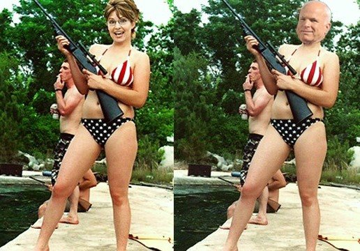 Picture of Palin Is a Fake - FactCheckorg