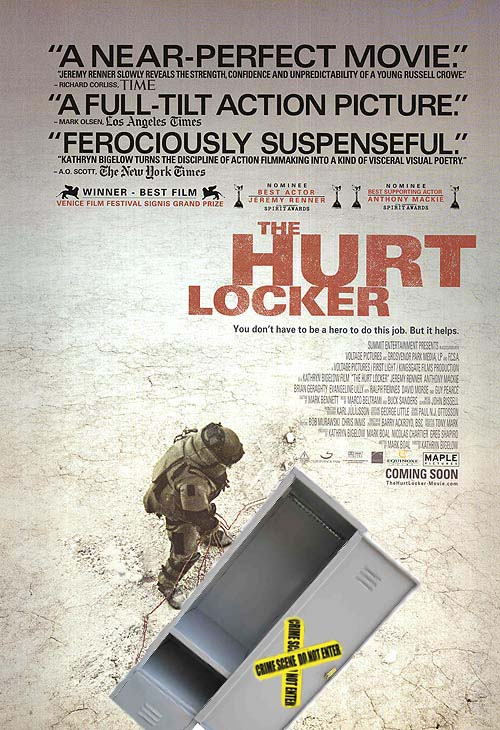 Hurt Locker movie poster