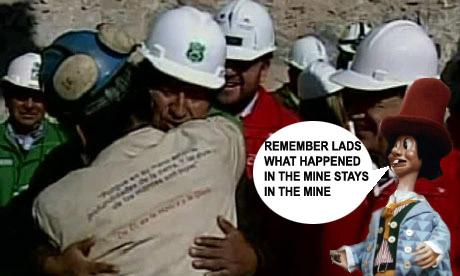 cHILEAN mINERS RELEASED