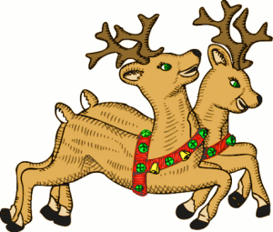 Enjoy these lovely reindeer before benefit-scrounging Liverpudlians steal their hooves or whatever else they do